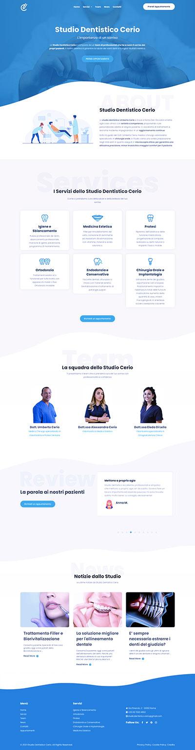 Sito Web Studio Cerio